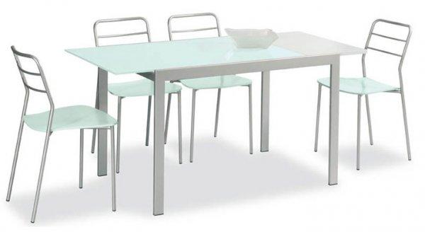 Connubia Calligaris Aladino Vetro 110x70 - Table