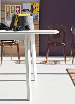 ... Connubia Calligaris Cream Table CB/4063 R ...