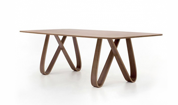 Tonin casa butterfly wood table for Table 52 botswana