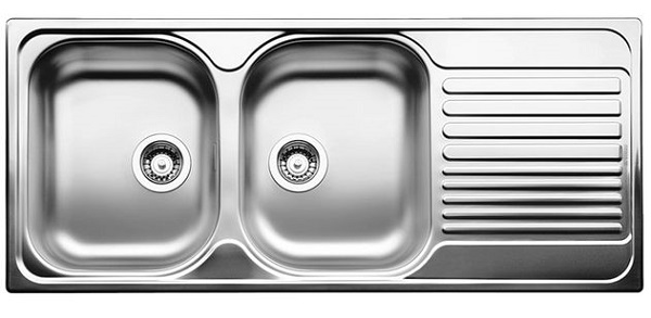 Blanco TIPO 8 S Compact - Bowls left - Stainless Steel Sink