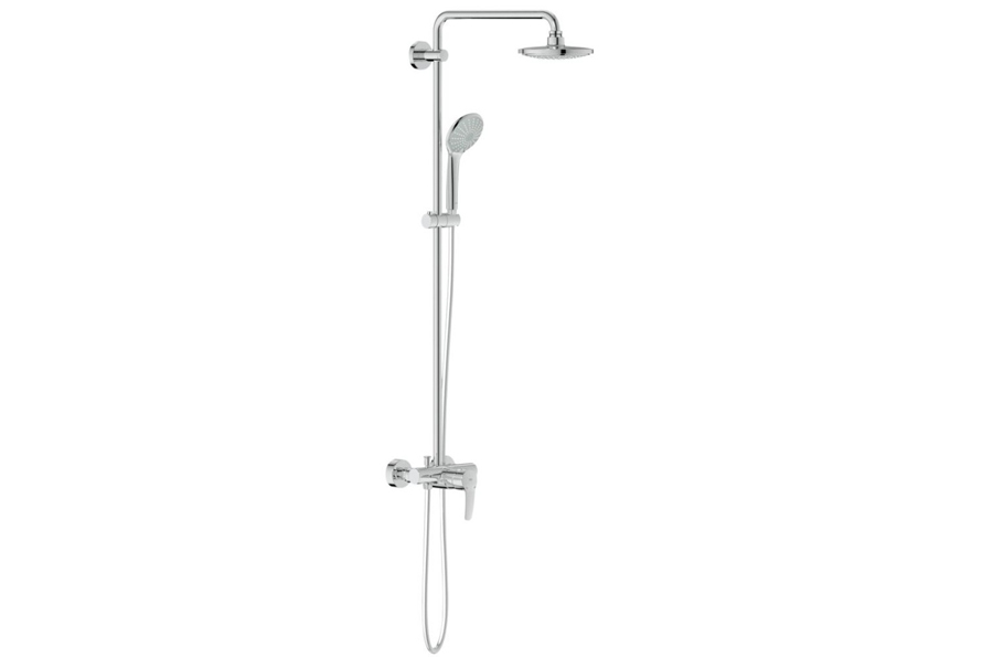 grohe euphoria system 180 shower system with single lever. Black Bedroom Furniture Sets. Home Design Ideas