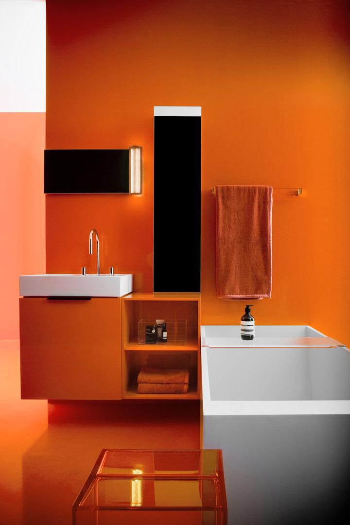 Kartell by Laufen Shelf for bathtub H38533208 - Bath Accessory