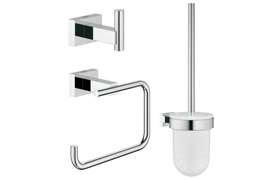 Grohe Essentials Cube : grohe essentials cube new accessories set 40757001 bath ~ Watch28wear.com Haus und Dekorationen