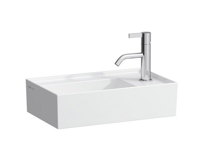 Small Washbasins : ... By Laufen Small washbasin 8.1533.4 - right - Surface-mounted washbasin
