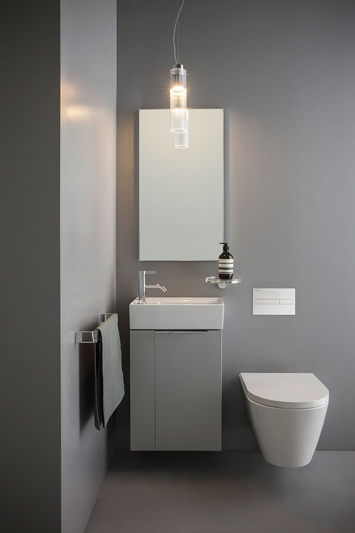 kartell by laufen small washbasin right. Black Bedroom Furniture Sets. Home Design Ideas