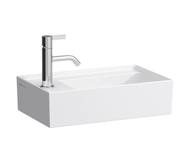 Small Washbasins : ... By Laufen Small washbasin 8.1533.5 - left - Surface-mounted washbasin