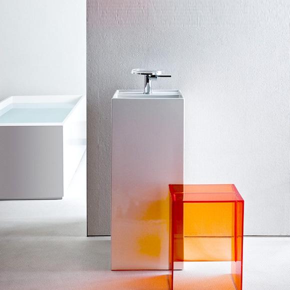 kartell by laufen freestanding washbasin floor. Black Bedroom Furniture Sets. Home Design Ideas