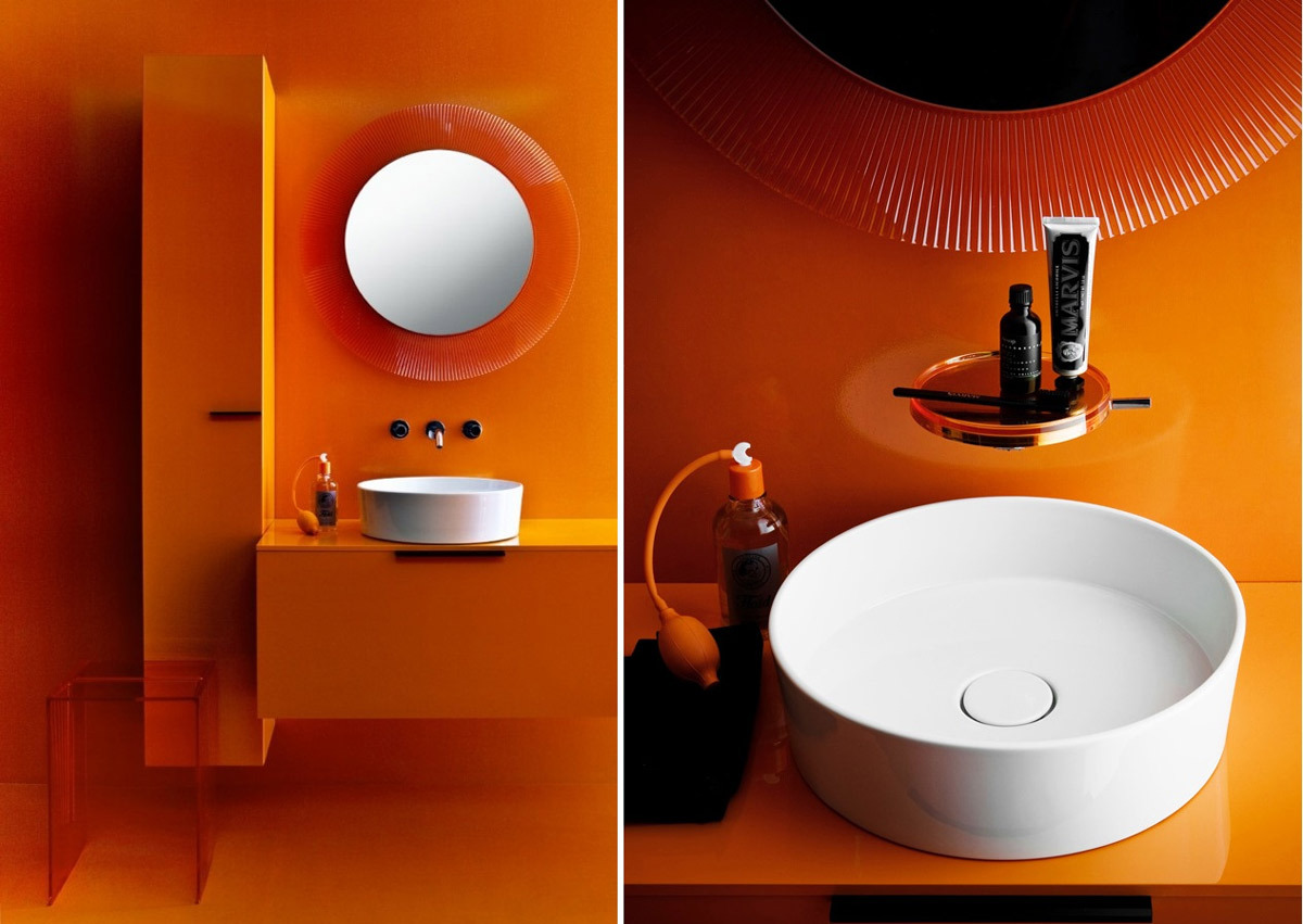 kartell by laufen washbasin bowl surface mounted washbasin. Black Bedroom Furniture Sets. Home Design Ideas