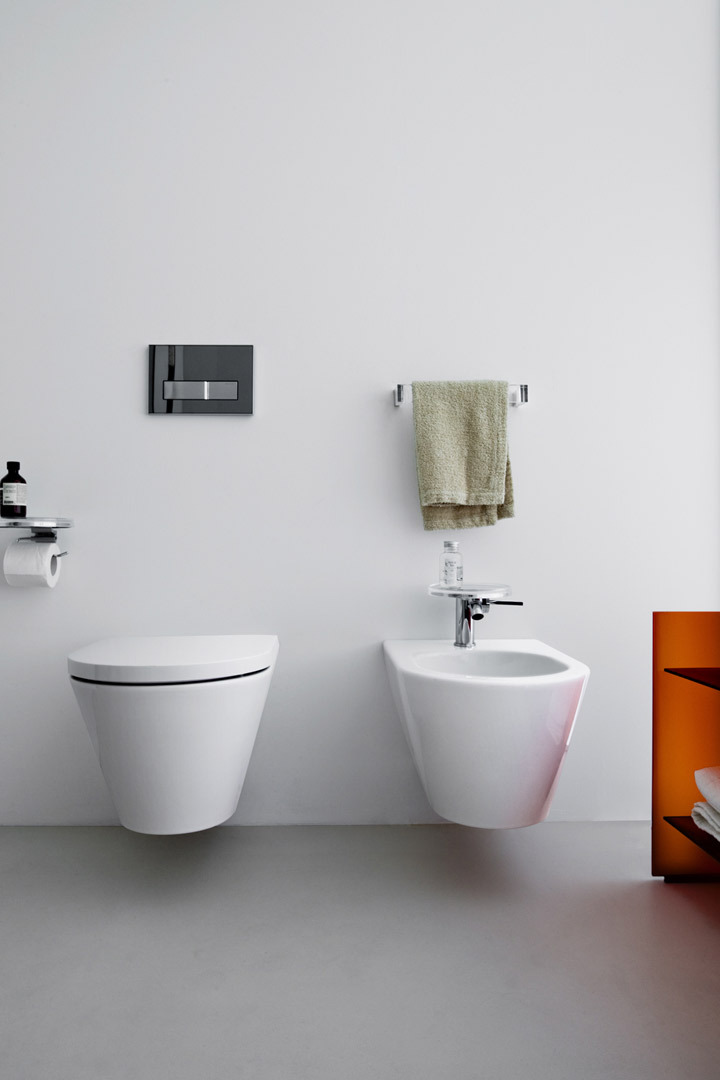 kartell by laufen wall hung wc toilet. Black Bedroom Furniture Sets. Home Design Ideas