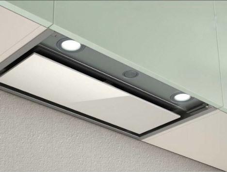Elica box in plus ixgl a 90 under cabinet range hood - Campanas elica precios ...