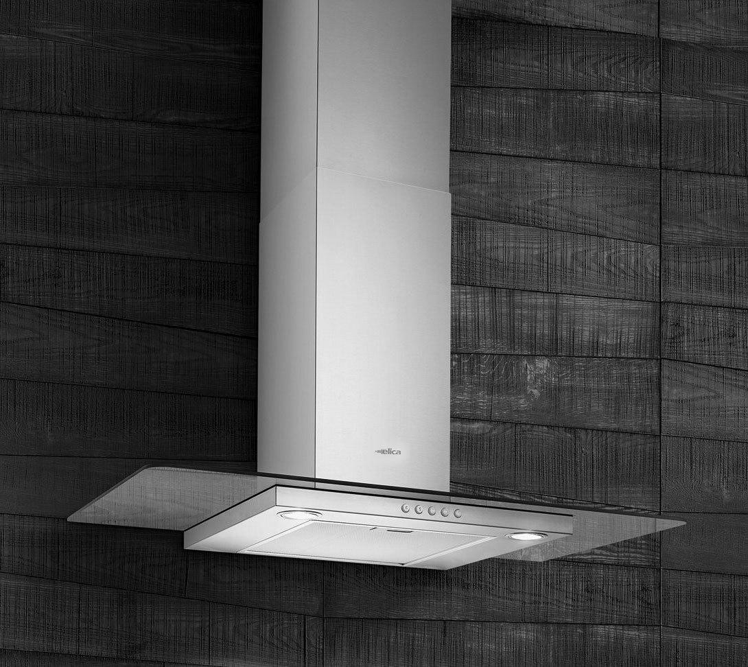 Window Next To Chimney Hood ~ Elica flat glass ix a chimney hood
