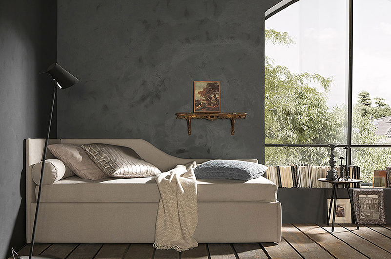 Bolzan Letti Line shaped bed - Sofa