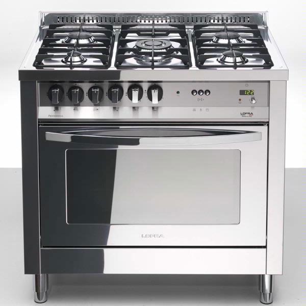 Lofra PLG96GVT/C Total Inox - Range Cooker