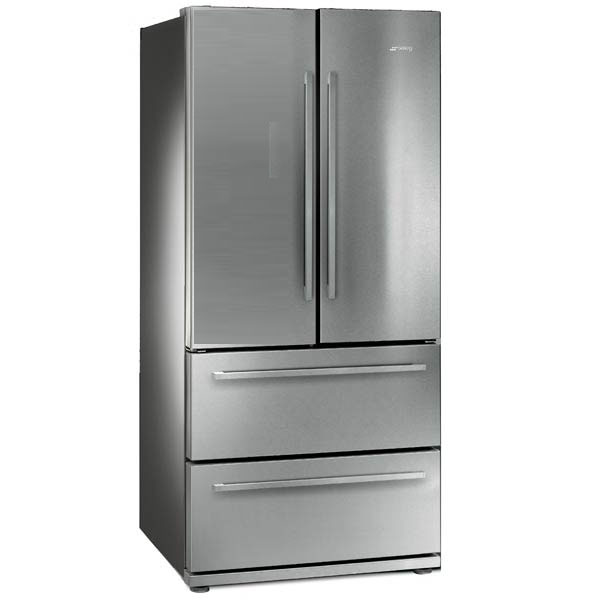 smeg fq55fx side by side refrigerator. Black Bedroom Furniture Sets. Home Design Ideas