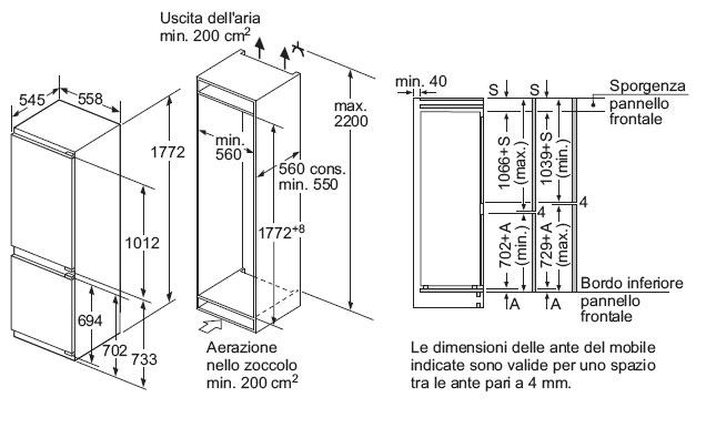 bosch kin86af30 - refrigerators