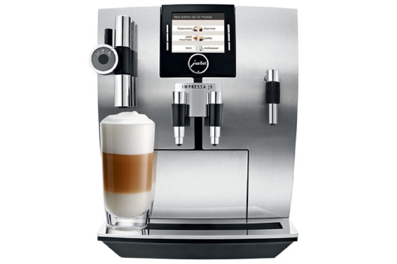 jura impressa j9 4 one touch tft coffee maker. Black Bedroom Furniture Sets. Home Design Ideas