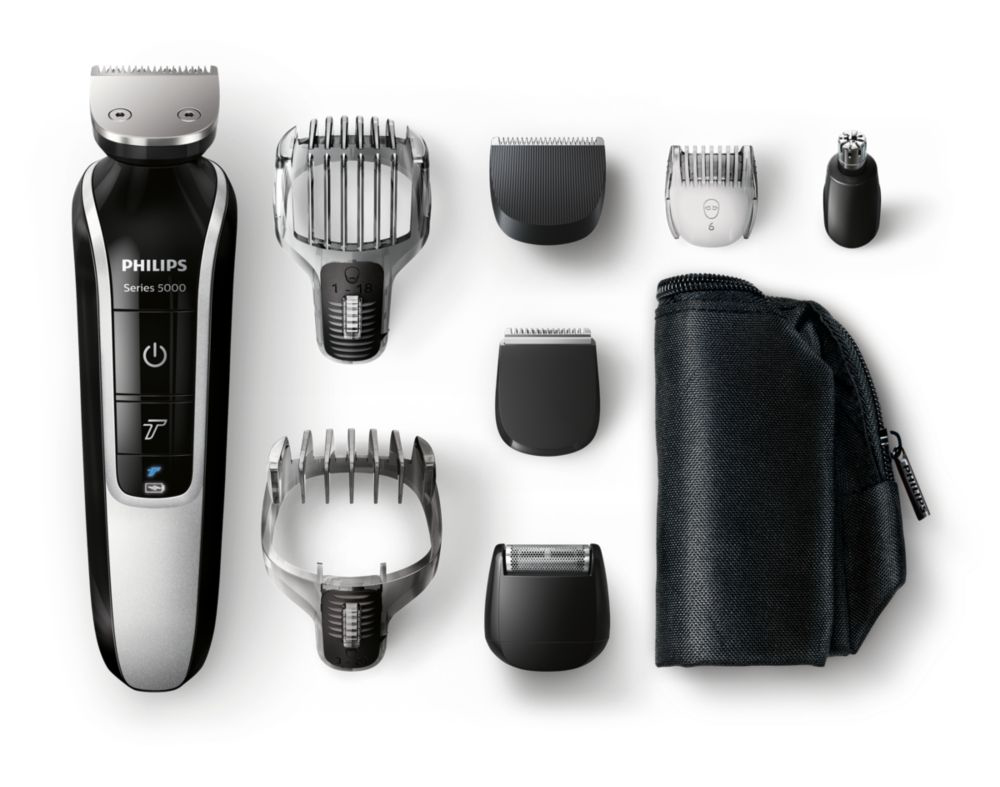 philips grooming kit electric shavers hair clippers beard trimmer. Black Bedroom Furniture Sets. Home Design Ideas