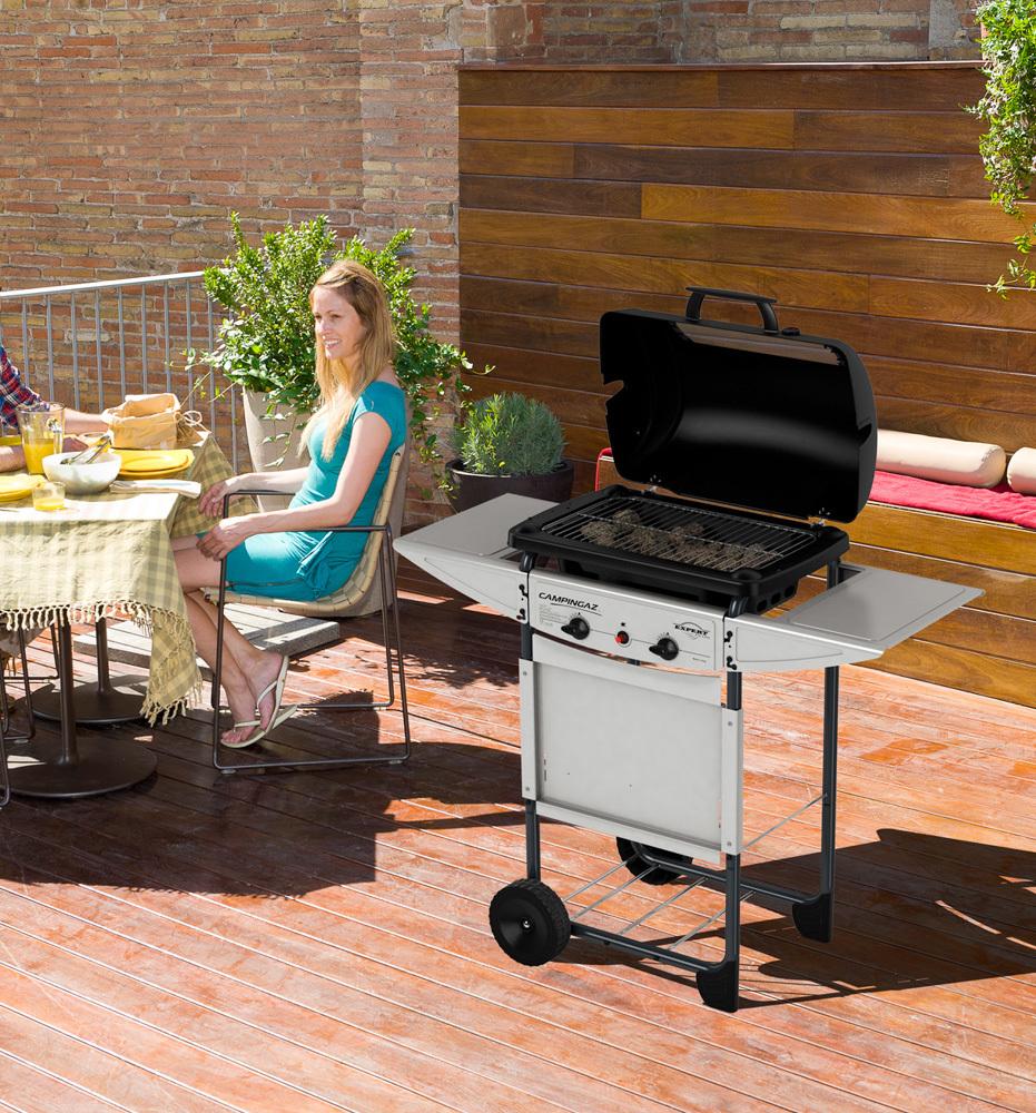 campingaz expert plus gas grill. Black Bedroom Furniture Sets. Home Design Ideas