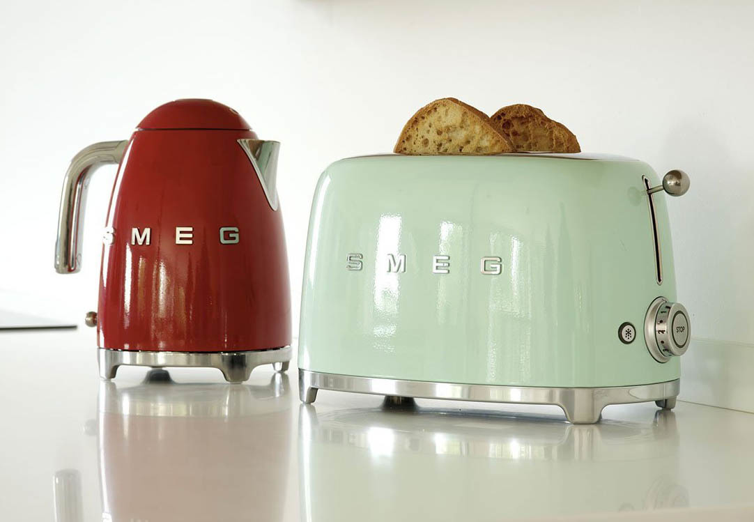 Smeg TSF01PGEU - Toaster