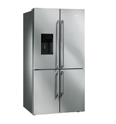 Smeg FQ75XPED - Side-by-Side Refrigerator
