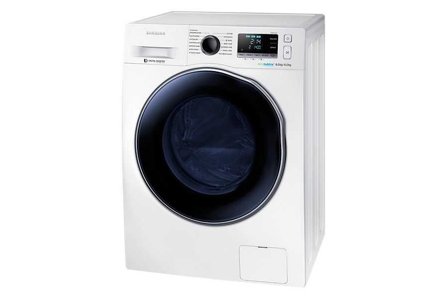 samsung wd80j6410aw washer dryer combos freestanding. Black Bedroom Furniture Sets. Home Design Ideas