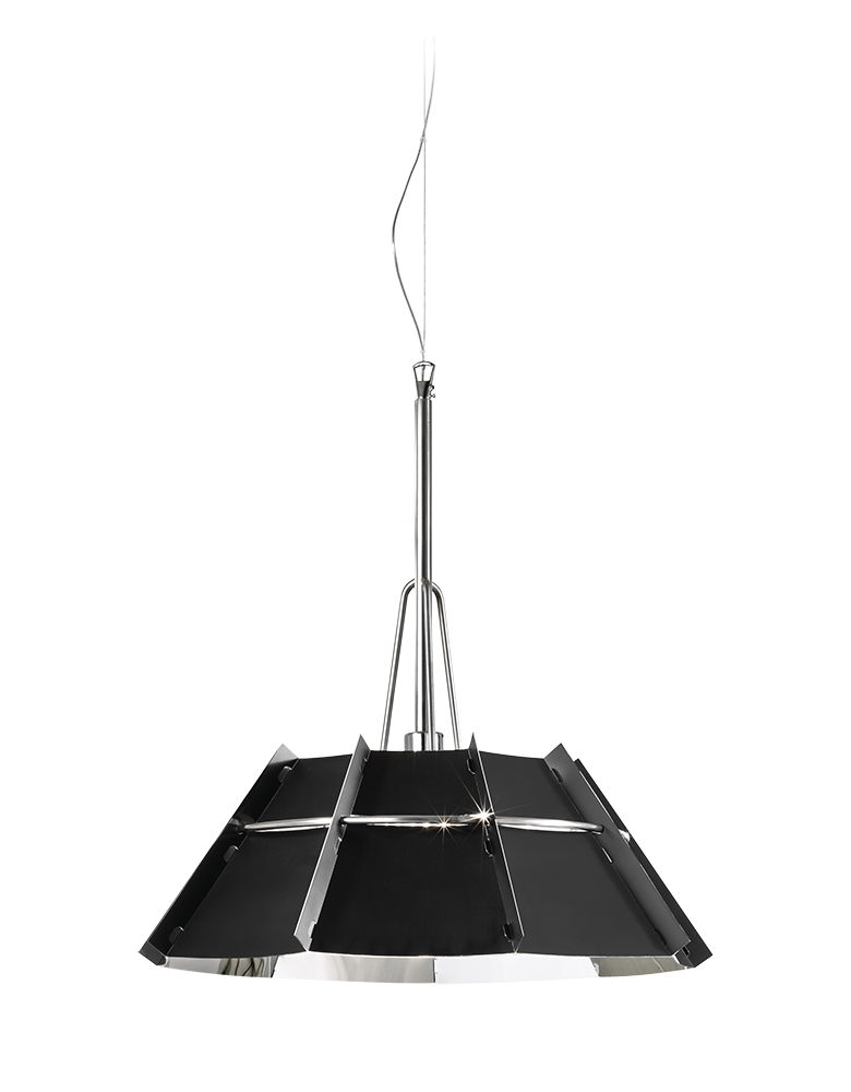 slamp chapeau suspension pendant lamp. Black Bedroom Furniture Sets. Home Design Ideas