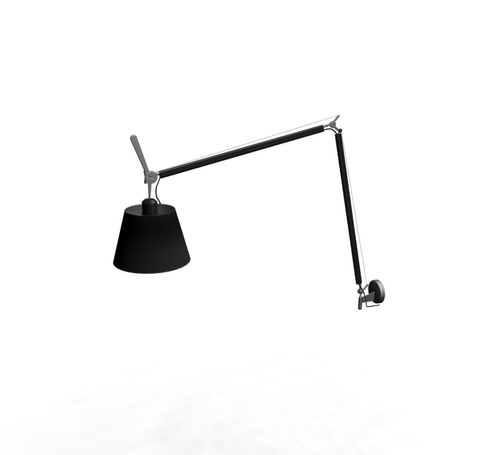 artemide tolomeo mega wall dimmer 32 wall lamp. Black Bedroom Furniture Sets. Home Design Ideas