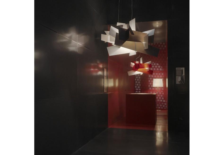 foscarini big bang suspension fluo 151007f pendant lamp. Black Bedroom Furniture Sets. Home Design Ideas