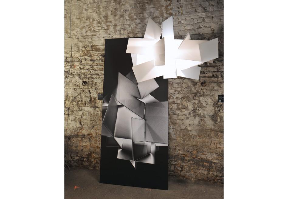 foscarini big bang xl suspension halo pendant lamp. Black Bedroom Furniture Sets. Home Design Ideas