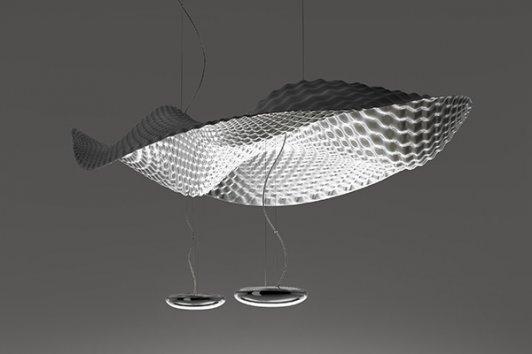 artemide cosmic angel sospension halo pendant lamp. Black Bedroom Furniture Sets. Home Design Ideas