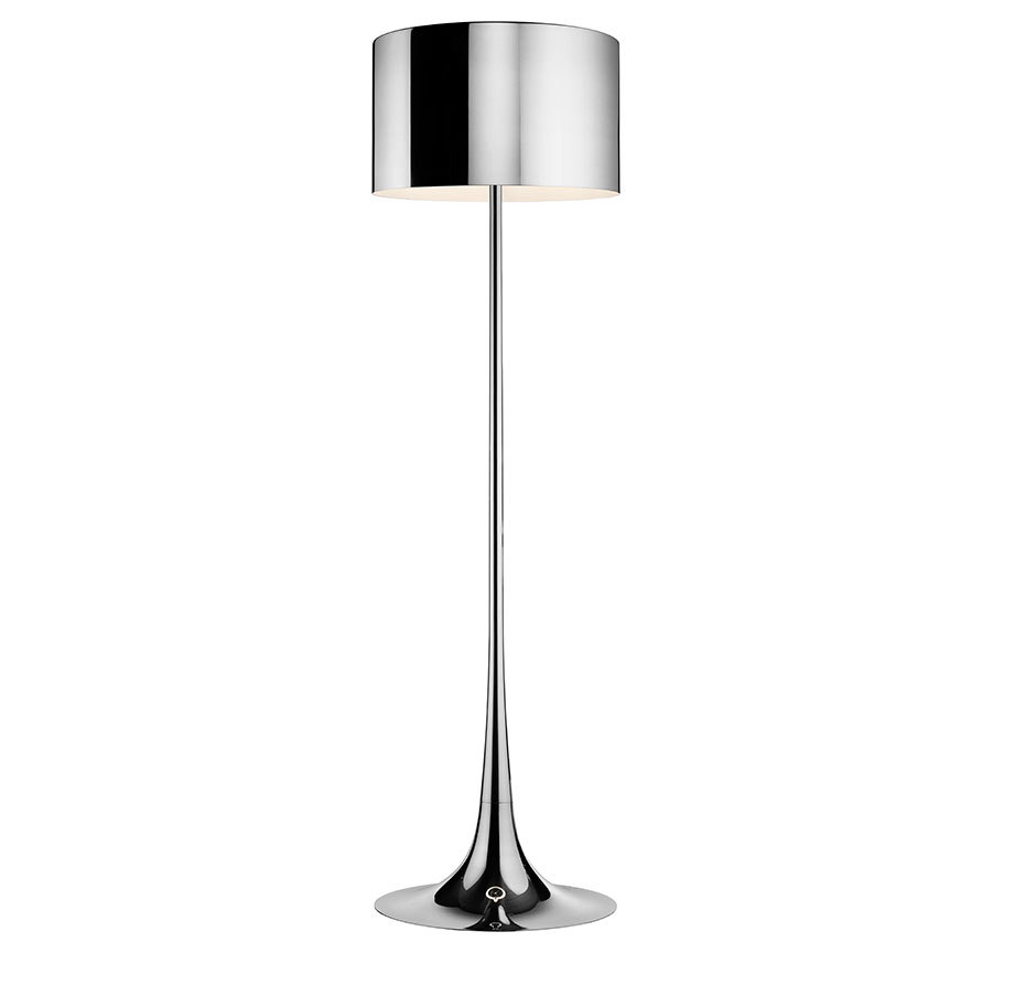 Flos spun light f eco floor lamp for Flos bathroom light