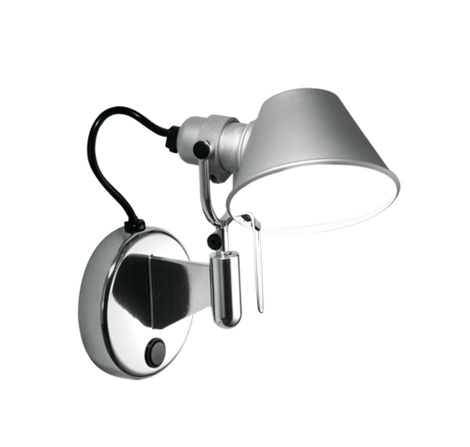 artemide tolomeo micro faretto led wall lamp. Black Bedroom Furniture Sets. Home Design Ideas