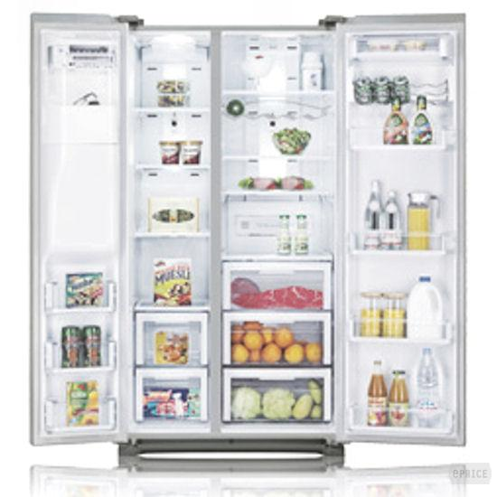 Samsung RS G5 UUPN - Side-by-Side Refrigerator