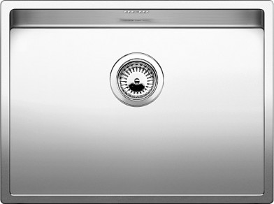 Ordentlich Blanco CLARON 550-U - 1517221 - Stainless Steel Sink QS44