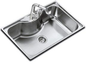 Elegant Teka Bahia 1b Stainless Steel Sink
