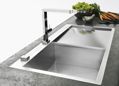 franke planar ppx 211 tl stainless steel sink. Black Bedroom Furniture Sets. Home Design Ideas