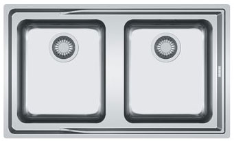 Franke Aton Sink : Franke Aton ANX 220 - 8586952 - Stainless Steel Sink