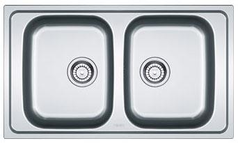 Franke Spark Sink : Franke Spark SKX 620 - 8896654 - Stainless Steel Sink