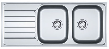 Franke Spark Sink : Franke Spark SKX 621 - 8896656 - Stainless Steel Sink