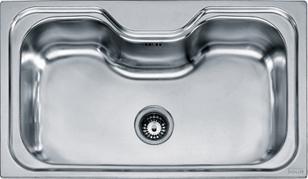 Accessori Lavelli Franke Acquario.Franke Acquario Acx 610 Stainless Steel Sink