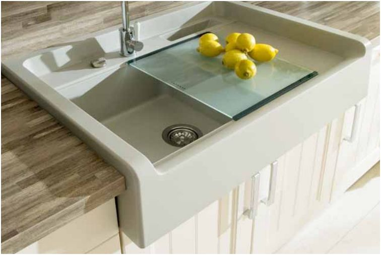 Largo Sink Schock M100, available in various colors.