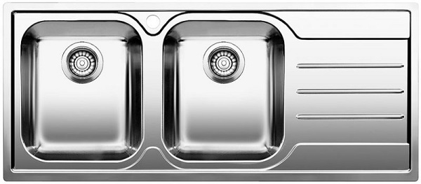 Blanco MEDIAN 8 S-IF - Bowls left - 1618492 - Stainless Steel Sink