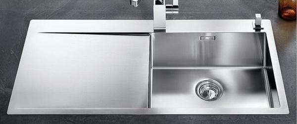 Blanco FLOW XL 6 S-IF R est 4 mm - 1517553 - Stainless Steel Sink | {Spülbecken edelstahl eckig 32}