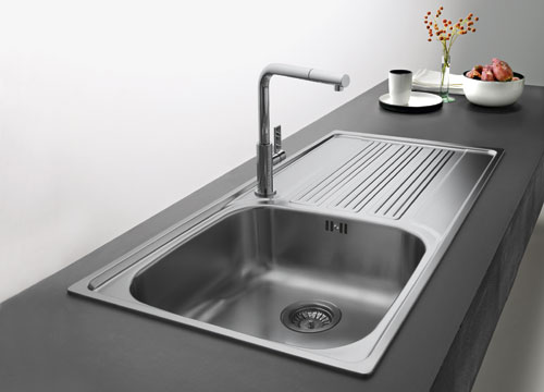 Franke Galileo GOX 611-L - 8896542 - Stainless Steel Sink