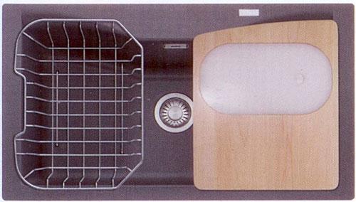 Accessori Lavelli Franke Acquario.Franke Acquario Line Acg 610 N A Synthetic Sink