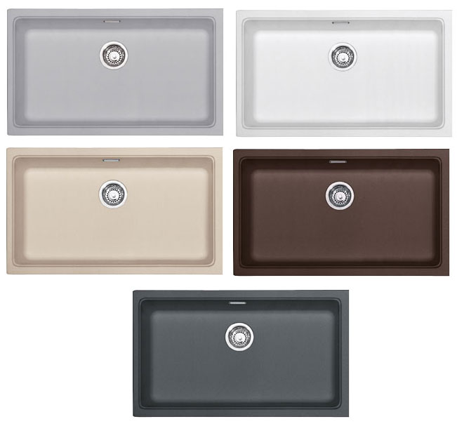 franke kubus sottotop kbg 110-70 - different colors - kbg_110-70 ... - Lavello Cucina Franke Fragranite