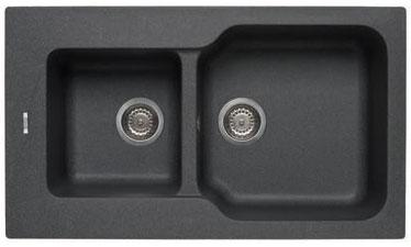 Elleci Fox 430 Granitek - Different Colors - Synthetic Sink