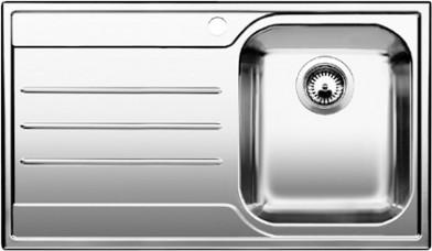 Blanco Median Sink : Blanco MEDIAN 45 S - Bowls right - 1612662 - Stainless Steel Sink