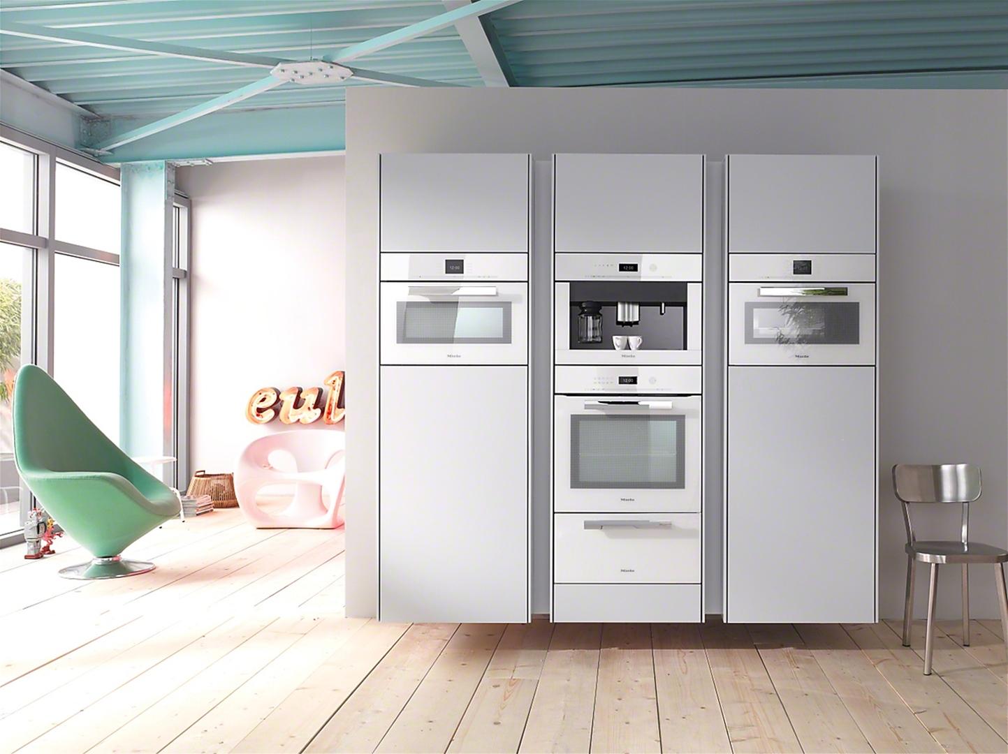 miele cva 6401 bright white coffee machines built in. Black Bedroom Furniture Sets. Home Design Ideas