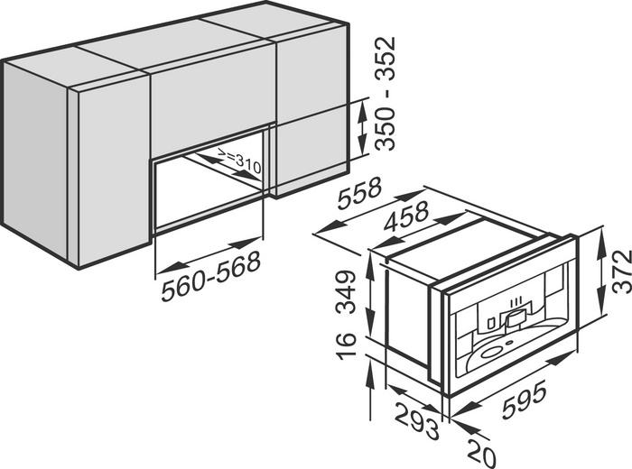 miele cva 3660 cva3660 coffee machines built in. Black Bedroom Furniture Sets. Home Design Ideas